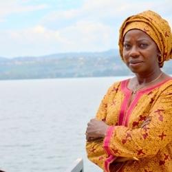 Kvenbændur í Austur-Kongó takast á við loftslagsbreytingar