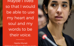 Hver er Nadia Murad?