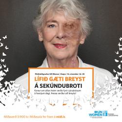 Fiðrildafögnuður UN Women