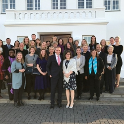 UN Women í heimsókn á Bessastöðum
