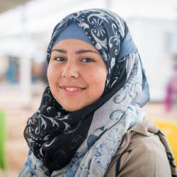 Griðastaðir UN Women í Zaatari búðunum