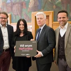 HeForShe – Kynning í Landsbankanum