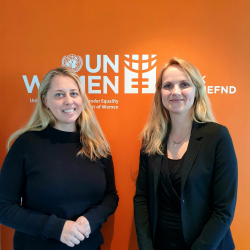 Sjóvá veitir UN Women styrk