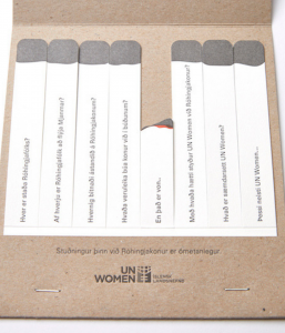 Jól 2018 – Vonarneisti UN Women & Reykjavík Letterpress