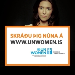UN Women vinnur gegn kynbundnu ofbeldi