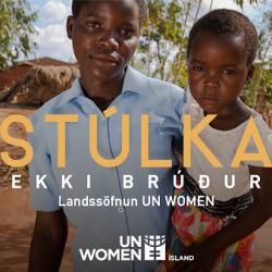 Stúlka ekki brúður – Landssöfnun UN Women