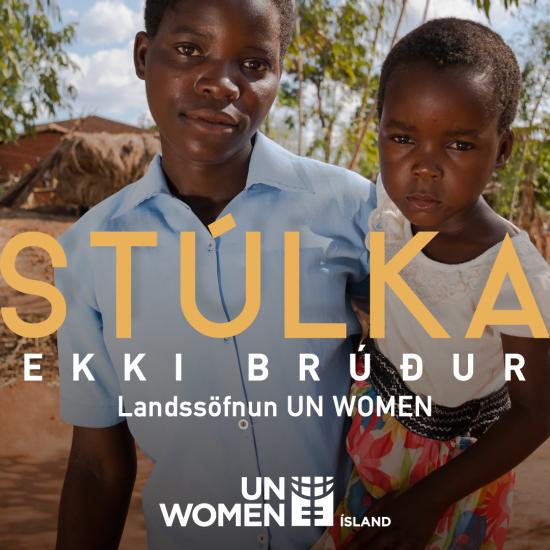 Stúlka – Ekki brúður
