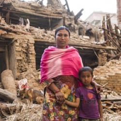 UN Women starfar í þágu kvenna á hamfarasvæðum í Nepal